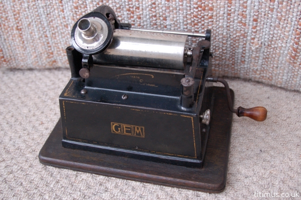Edison Gem Phonograph Restored