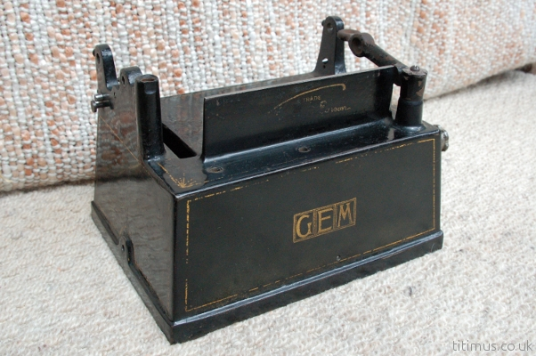 Edison Gem Phonograph Case