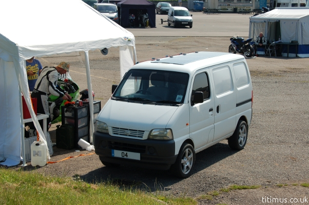 Suzuki Carry Mini Campervan Solar Panels Mallory