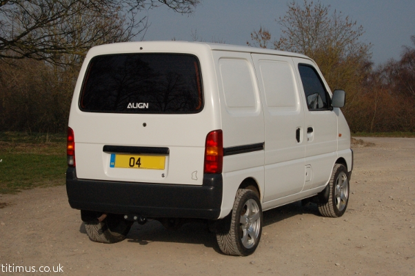 Suzuki Carry Mini Campervan
